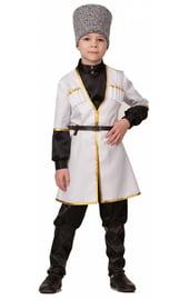 Детский костюм Кавказского мальчика в белом