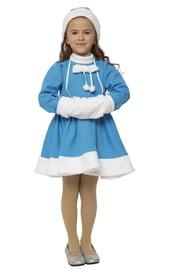 Детский костюм Внучки Снегурочки