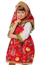 Детский костюм Матрешки Маруси