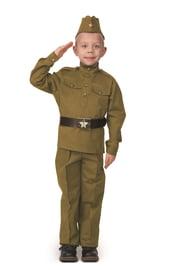 Детский костюм солдата хлопковый