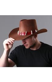 Шляпа крокодила Данди коричневая