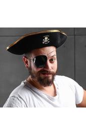 Взрослая шляпа настоящего пирата