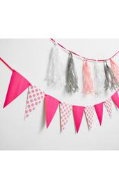 Розовый набор гирлянд для оформления