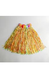 Гавайская разноцветная юбка 60см.