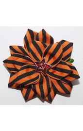 Заколка в волосы Георгиевский цветок