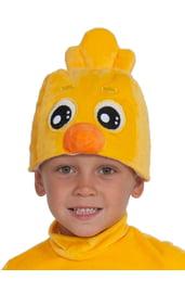 Детская шапка Цыпленок