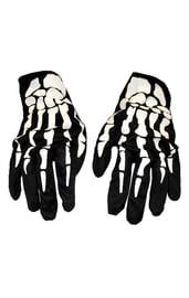Взрослые перчатки скелет