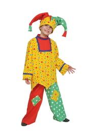 Детский костюм озорного Скомороха