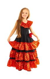 Детское платье испанки