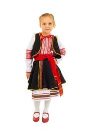 Детский молдавский костюм для девочки