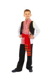 Детский молдавский костюм для мальчика