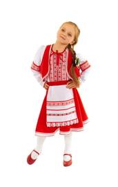 Детский костюм белорусской девочки
