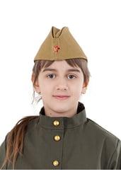 Детская пилотка военного