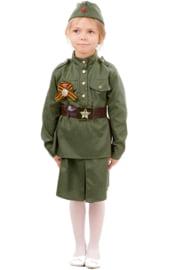 """Детский костюм """"Солдатка"""""""