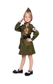 Детский военный костюм медсестры