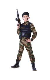 Детский костюм солдата спецназа