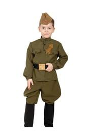 Детский костюм солдата в сапогах