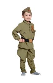 Детский костюм маленького солдата