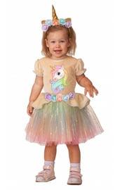 Детский костюм единорожки малышки