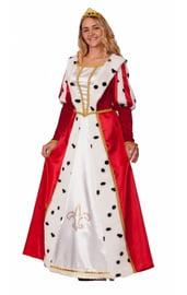 Взрослый костюм королевы