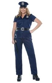 Костюм полицейской женский