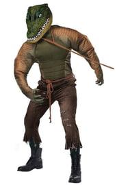 Костюм человека-аллигатора