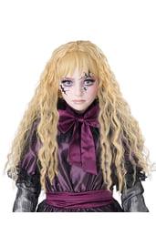 Жуткий кукловой парик