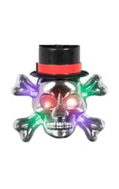 Медальон светящийся череп