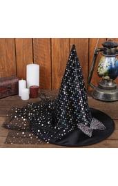 Карнавальная шляпа «Волшебница» с бантиком