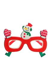 Карнавальные очки «Снеговик»