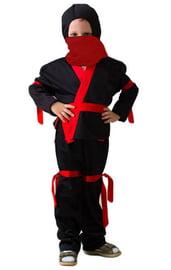 Детский костюм ниндзя черный