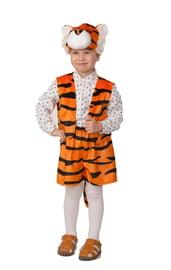 Детский костюм для мальчиков Тигр