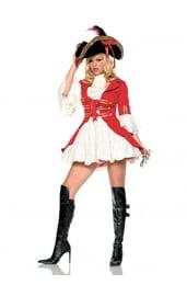 Карнавальный костюм красной пиратки