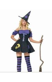 Маскарадный костюм ведьмы