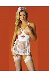 Женский эротический костюм медсестры