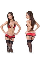 Женское сексуальное женское белье красное