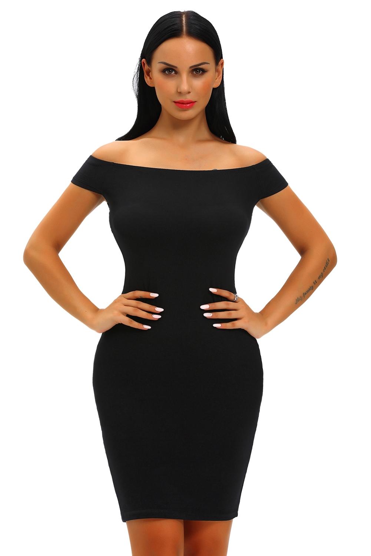 Черное Платье По Фигуре