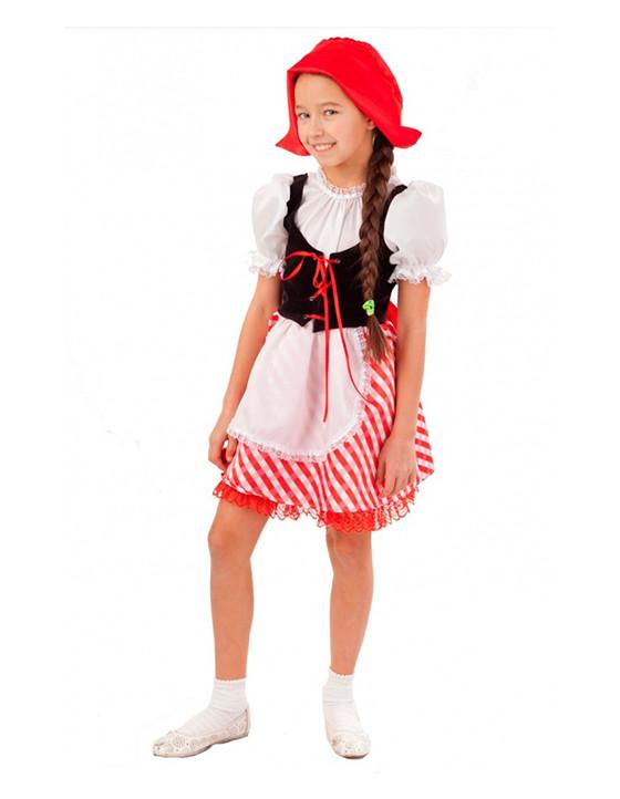 Как сделать костюм Красной Шапочки своими руками для ребенка