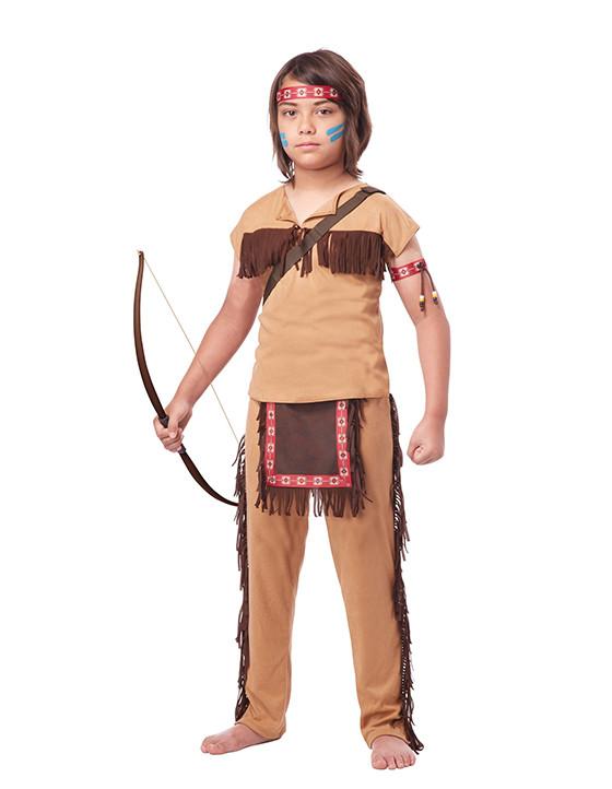 Как сделать костюм индейца своими руками